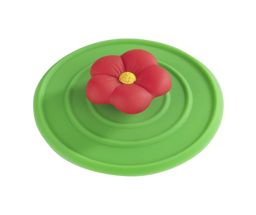 Čep za sudoper Red Flower