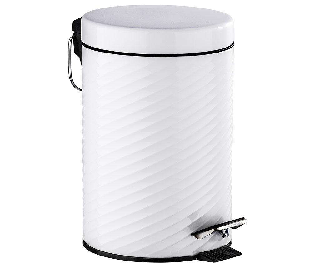 Cos de gunoi cu capac si pedala Spiro 3 L