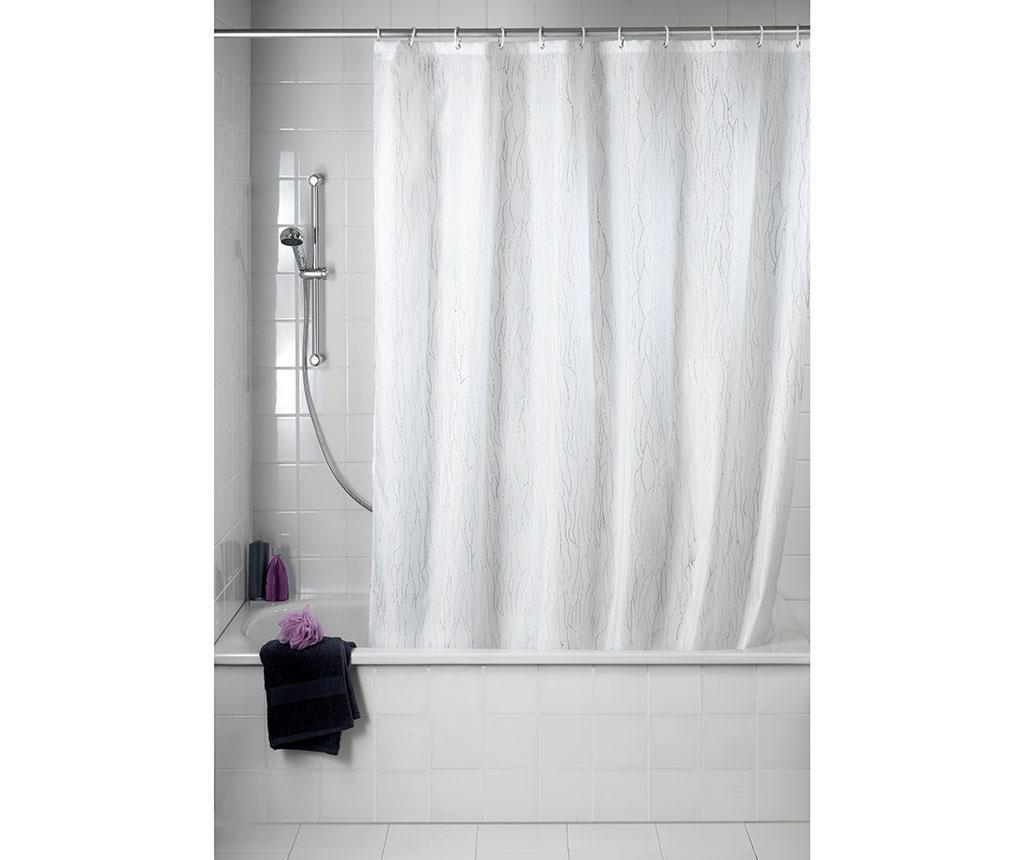 Zasłona prysznicowa Deluxe White 180x200 cm