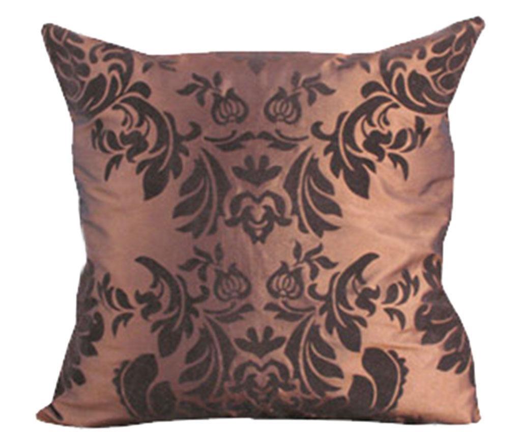 Perna decorativa Damask Chocolate 45x45 cm
