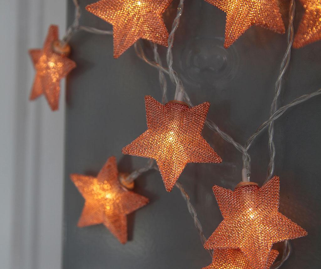 Svjetleća girlanda Star Copper 135 cm
