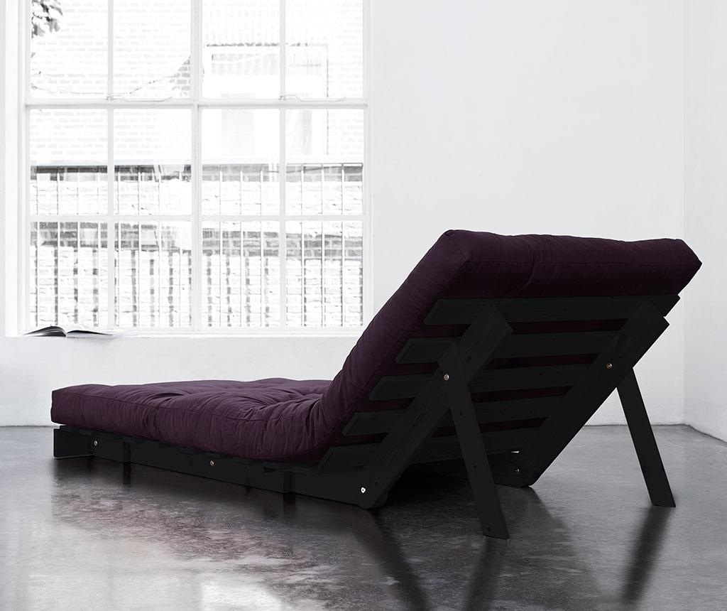 Sofa extensibila Roots Wenge and Purple