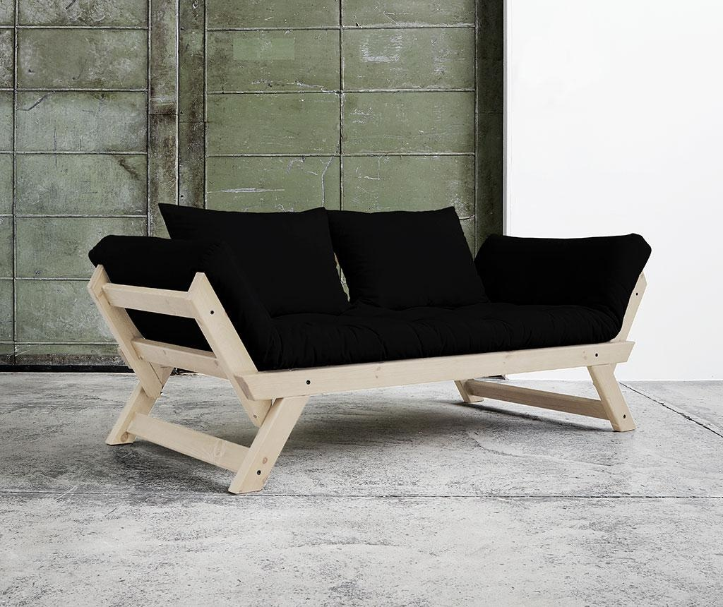 Sofa extensibila Bebop Natural and Black