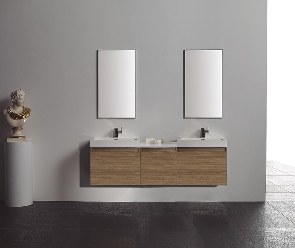 Natural Tek Összekötő elem fürdőszobai bútorokhoz
