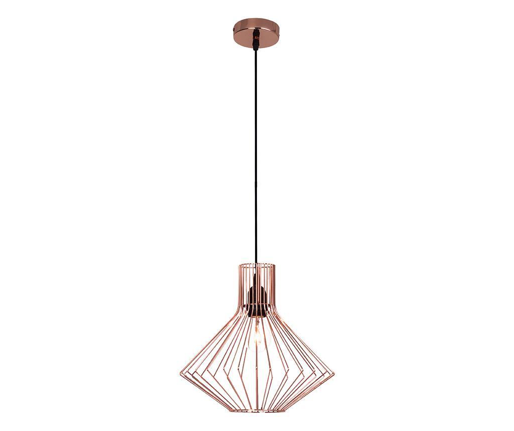 Stropna svetilka Flavia Copper