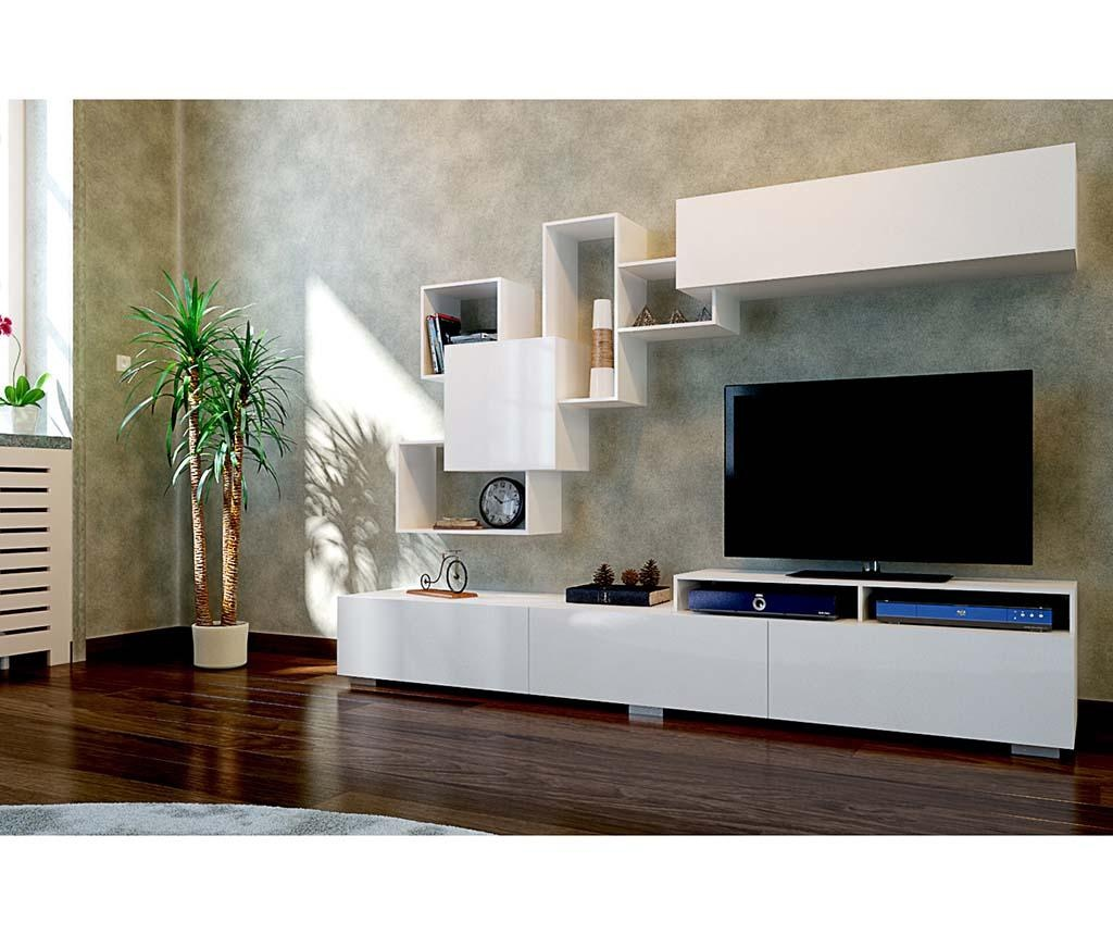 Regal za dnevni boravak Elit White
