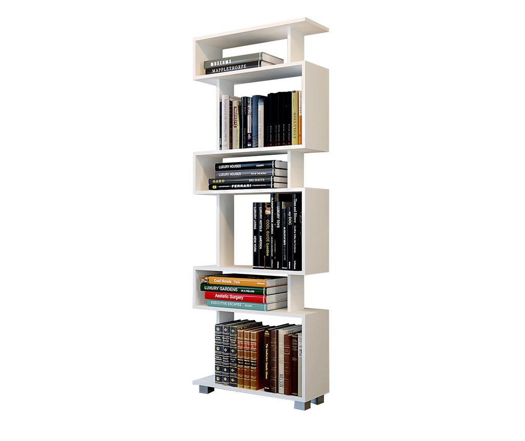 Corp biblioteca Blok White