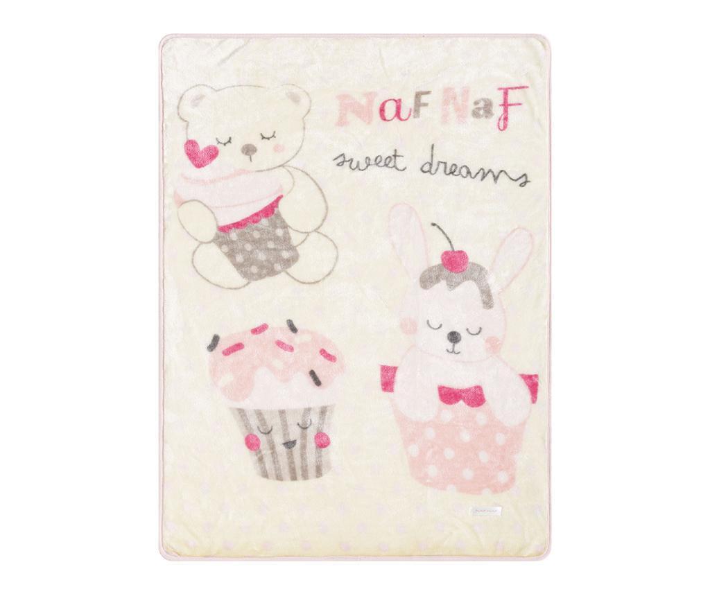 Priročna odeja Sweet Pink 80x110 cm