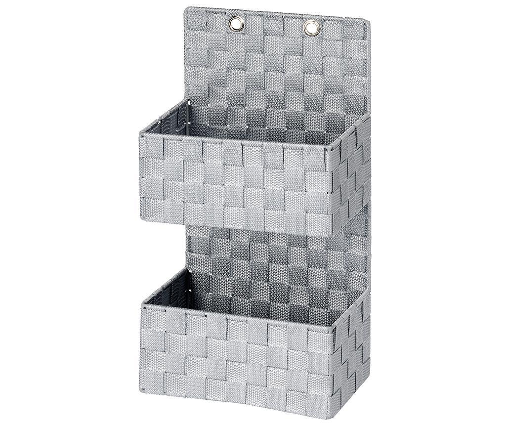 Suport accesorii de baie Adria Grey Two