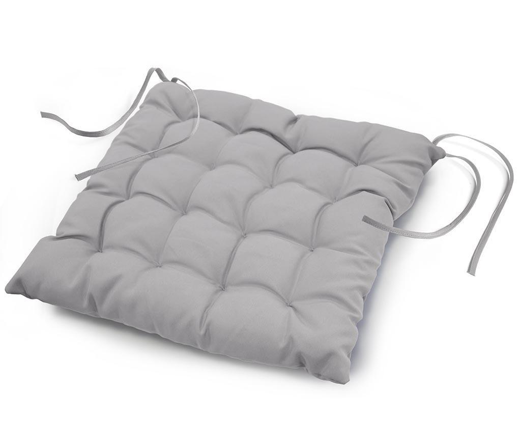 Jastuk za sjedalo Essentiel Grey 40x40 cm