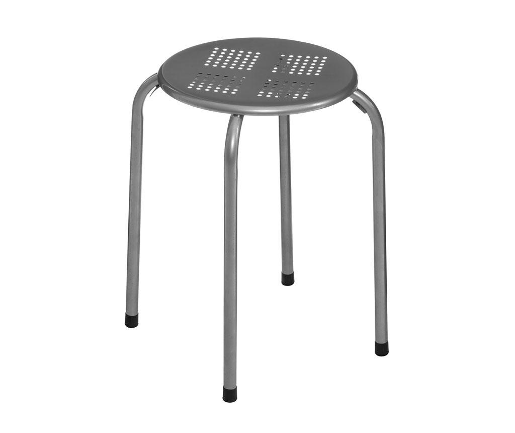 Židle Stacking Grey