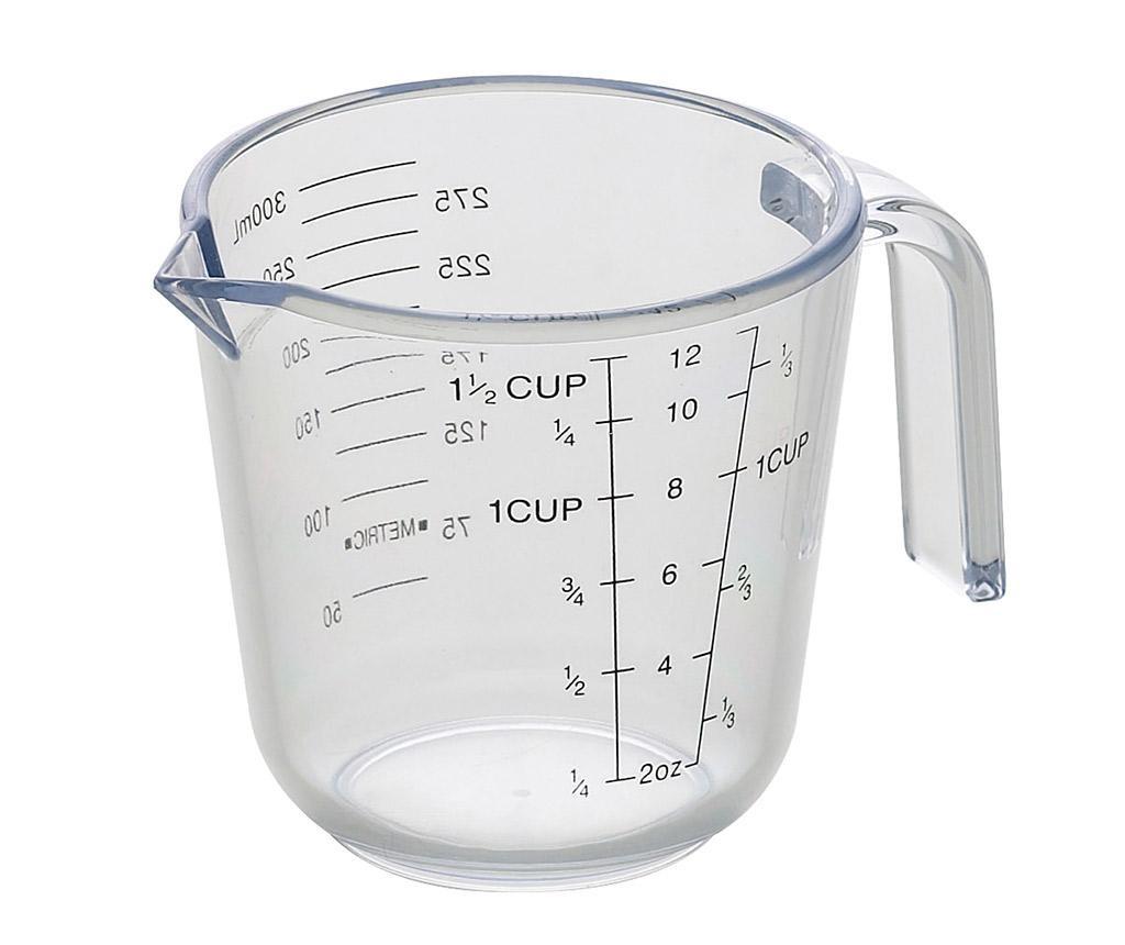 Cana gradata Clear 600 ml