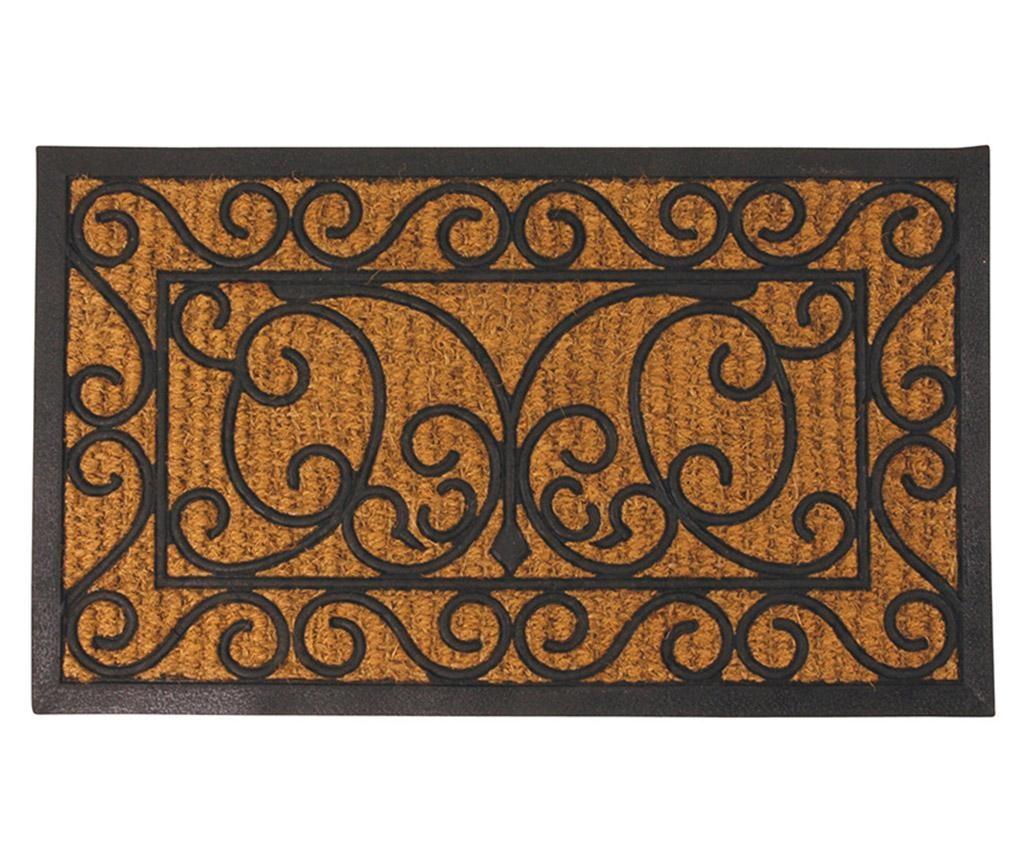 Covoras de intrare Brown & Black 44.5x74.5 cm