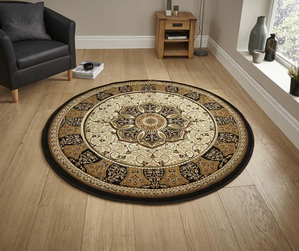 Covor Heritage Black Circle 150 cm