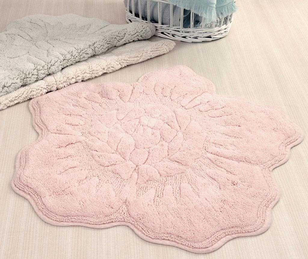 Kupaonski tepih Rosalinda Pink 90x90 cm
