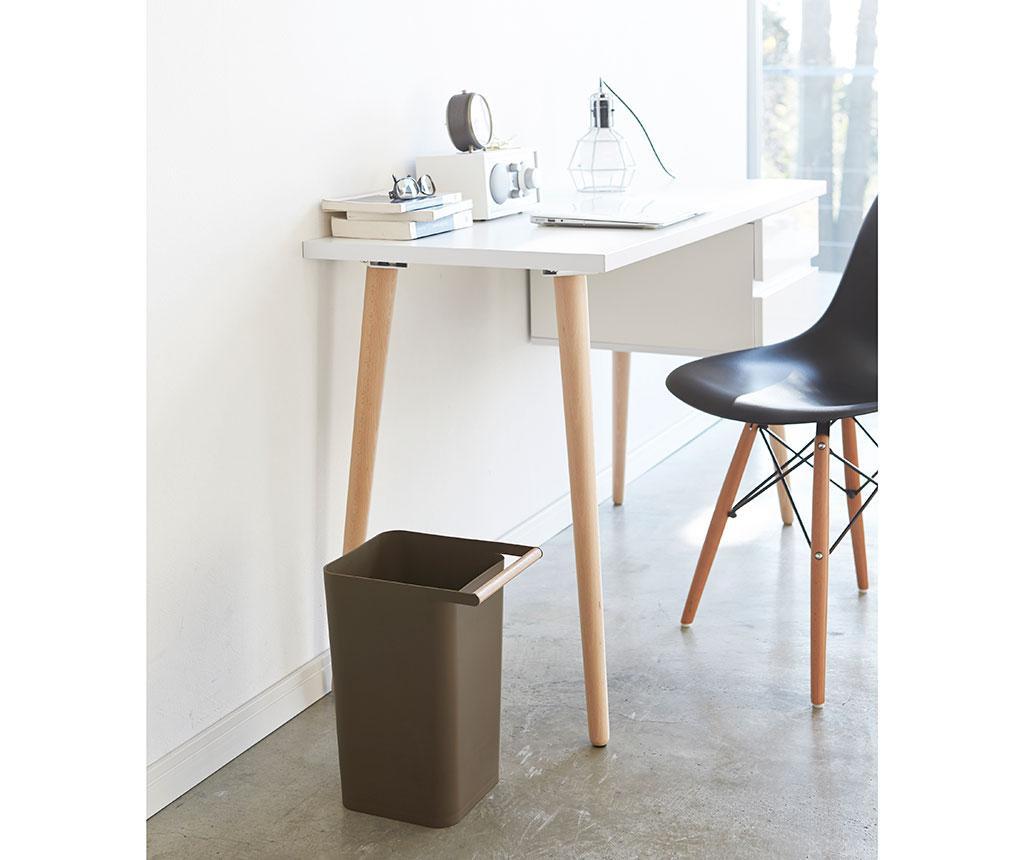 Cos de gunoi Como Brown 9.5 L