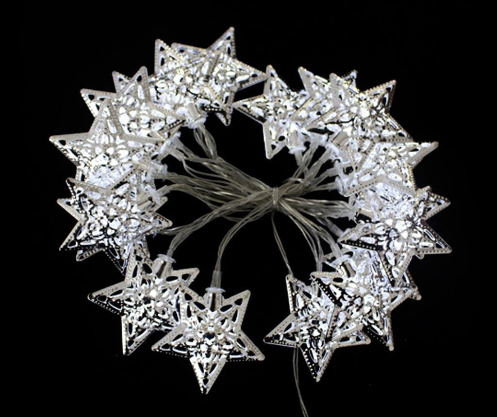 Ghirlanda luminoasa Frosty Ten White