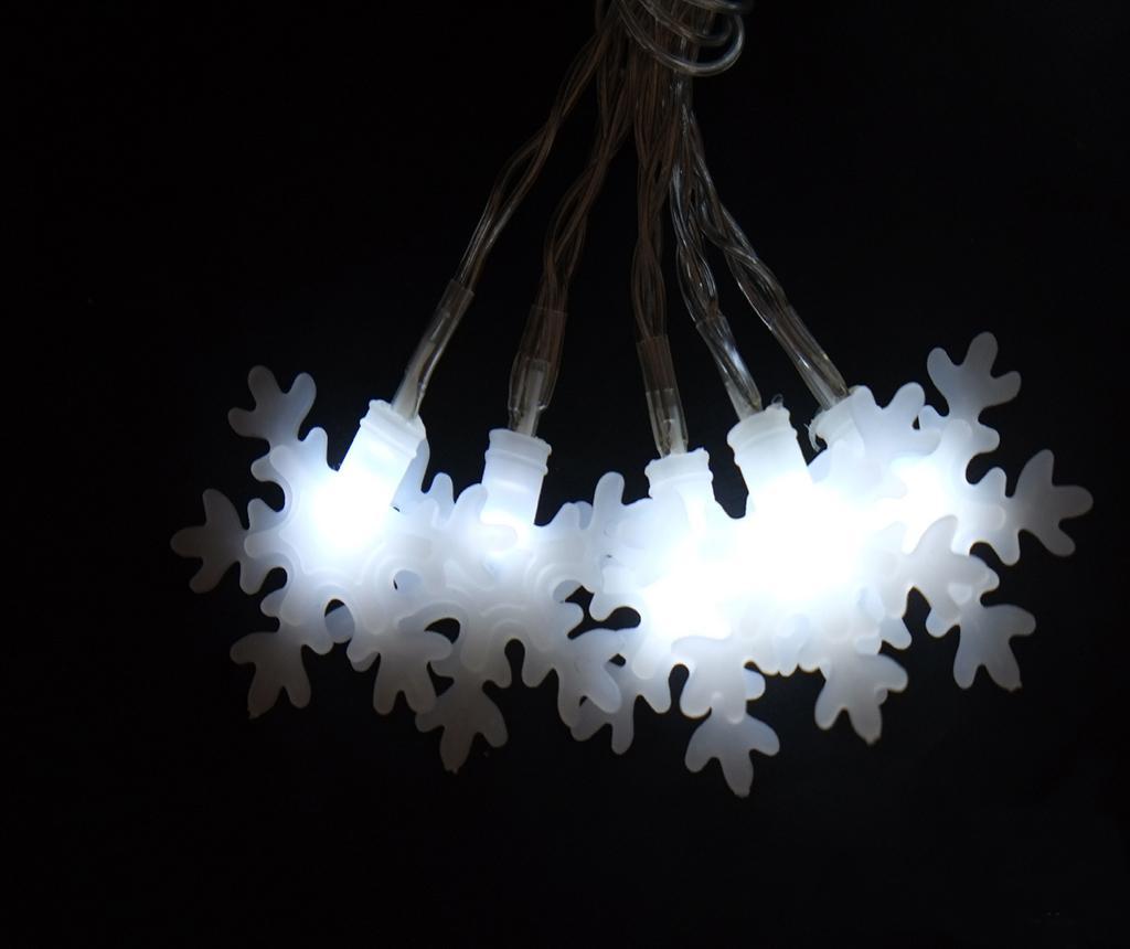 Ghirlanda luminoasa Flash Star Ten White