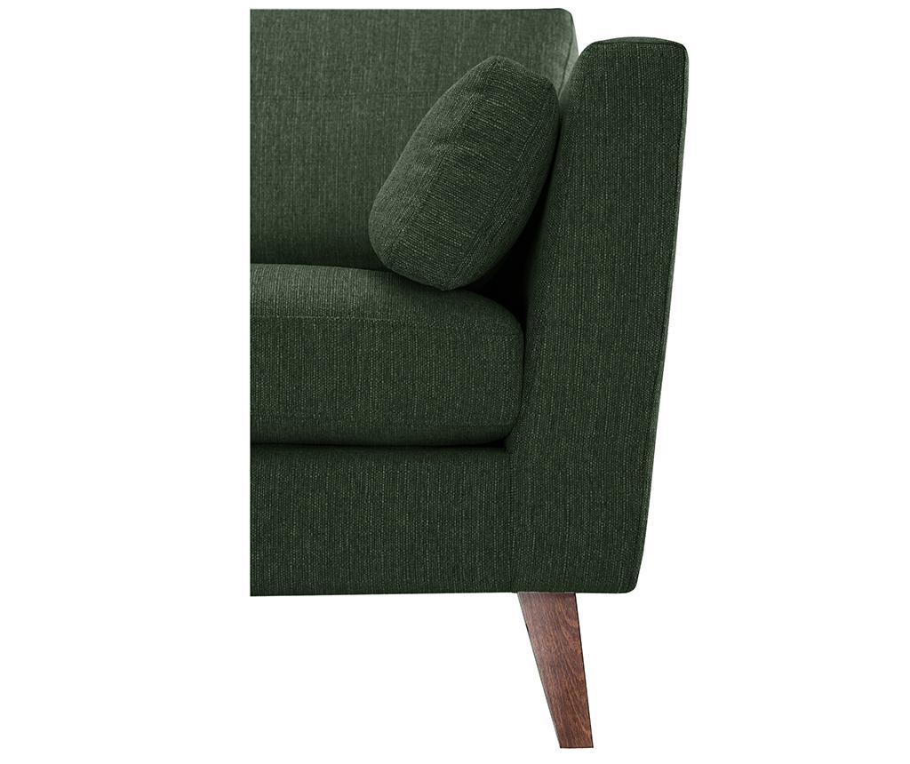 Elisa Dark Green Fotel