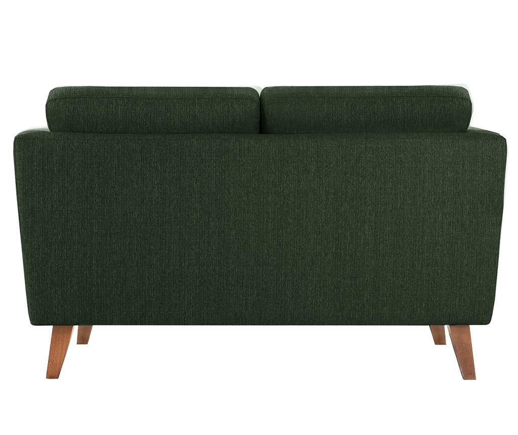 Canapea 2 locuri Elisa Dark Green