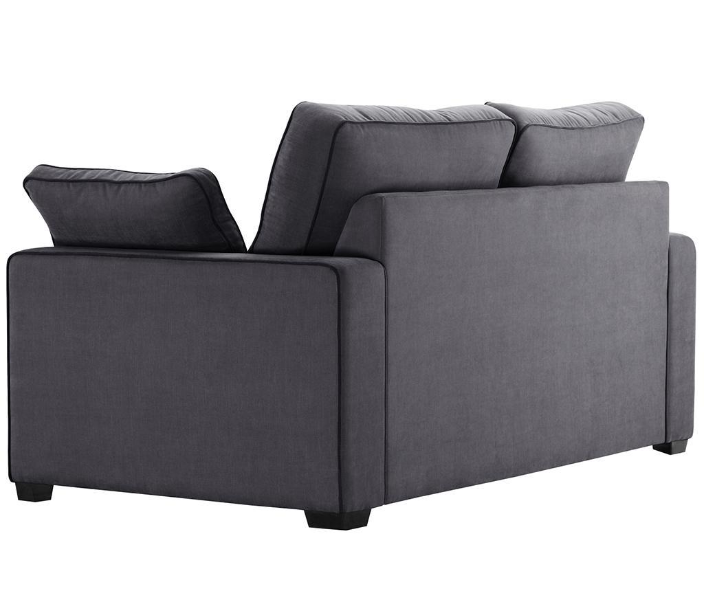 Sofa dvosjed Serena Anthracite
