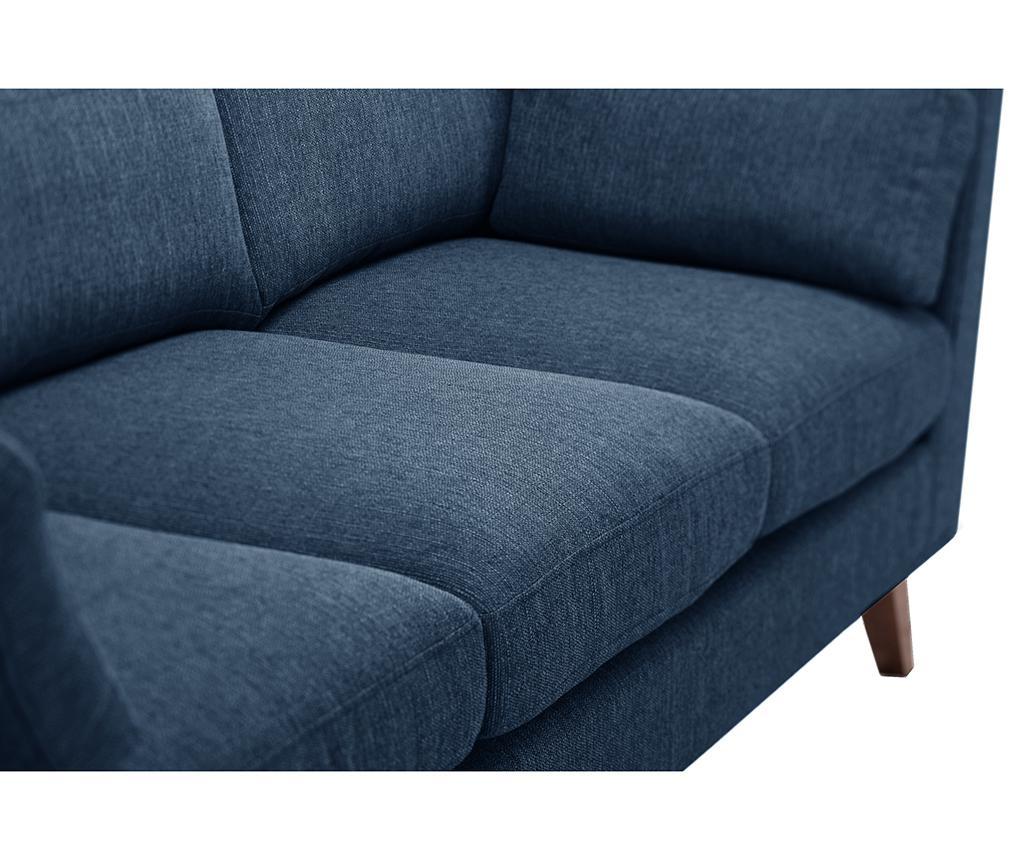 Elisa Blue Jeans Háromszemélyes Kanapé