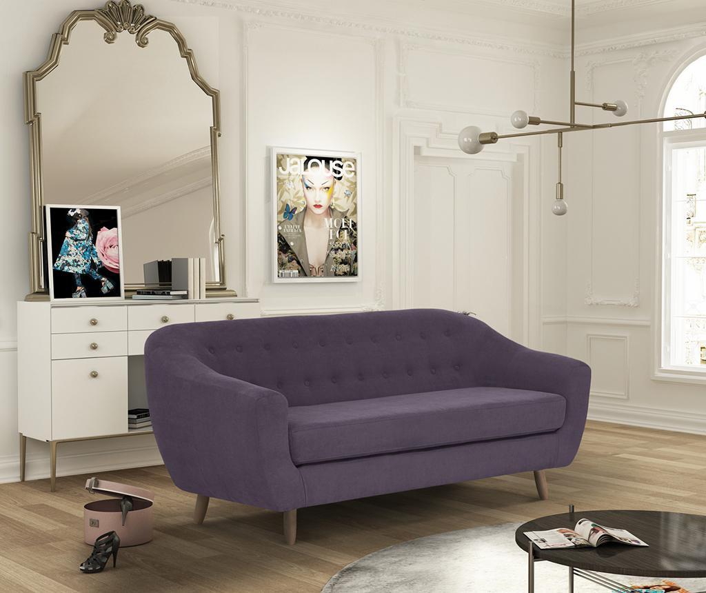 Canapea 3 locuri Vicky Lilac