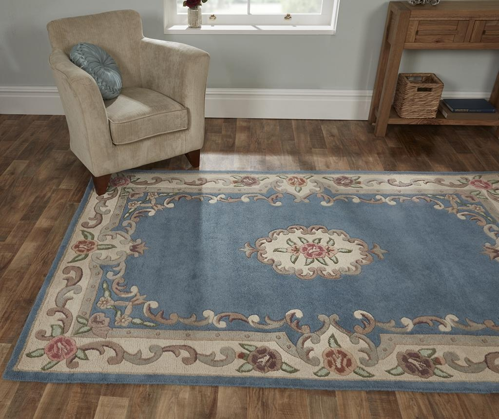 Tepih Aubusson Blue 75x150 cm