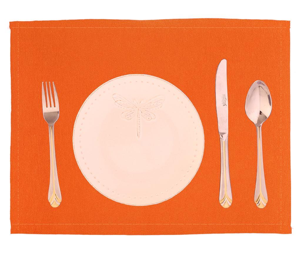 Set 2 podmetača Plane Orange 33x45 cm