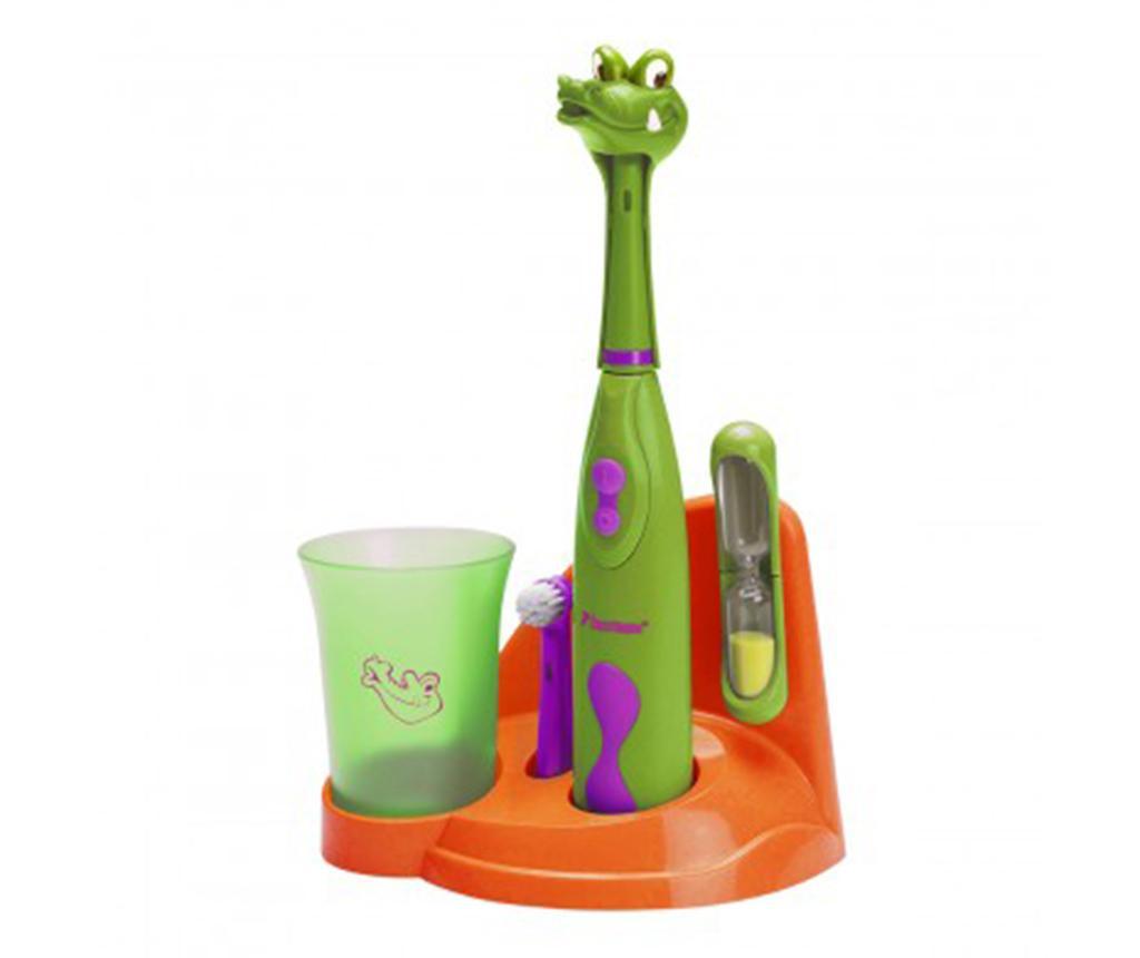 Clean Crazy Croc Elektromos fogkefe gyerekeknek és kiegészítők