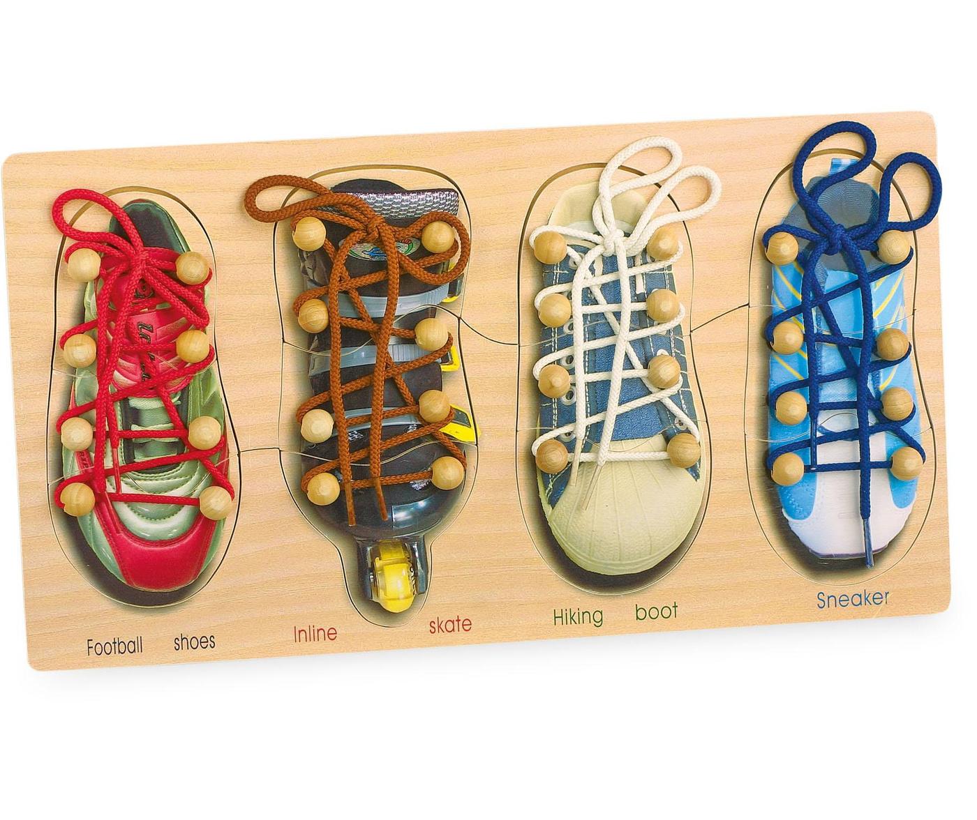 Joc de indemanare Tying Shoes