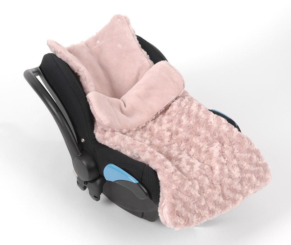 Sac de dormit Little Roses Pink 0-6 luni