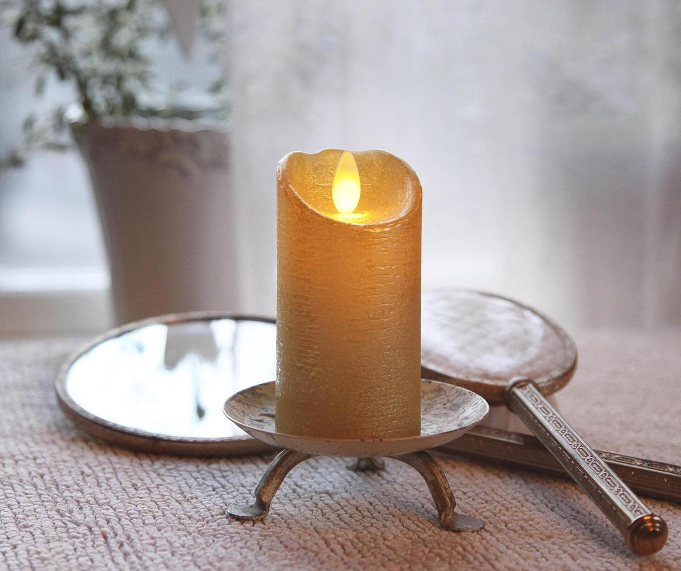 Lumanare cu LED Glow Gold