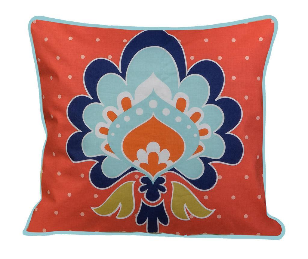 Perna decorativa Mehndi Saffron 45x45 cm