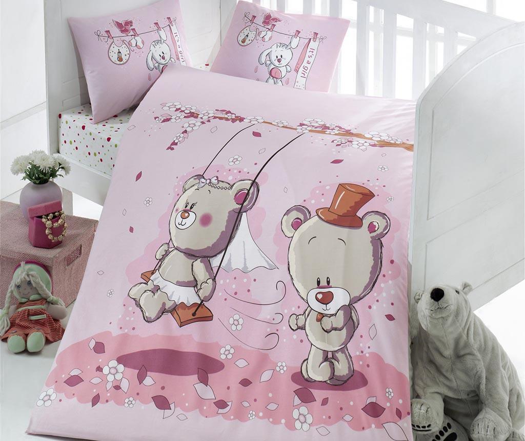 Dječja posteljina  Ranforce Bears Lovers 100x150