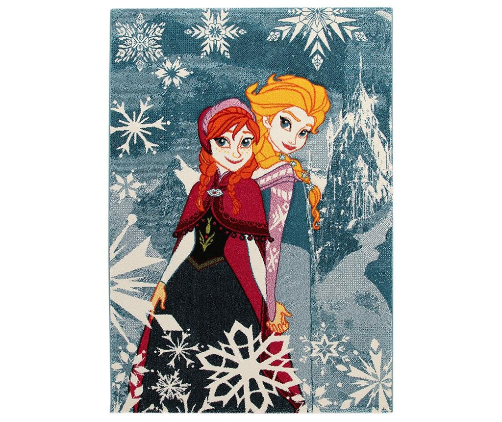 Preproga Frozen Sisters 100x150 cm