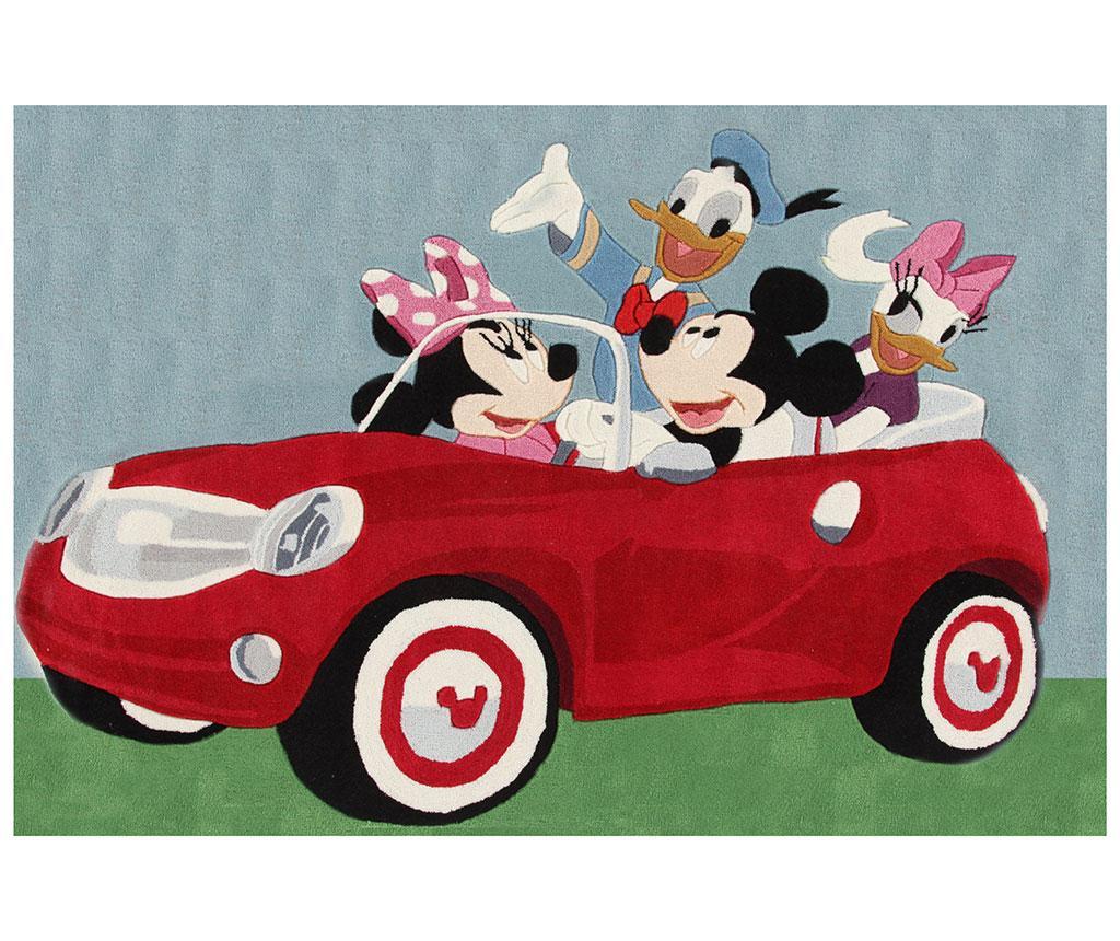 Covor Mickey Cars 133x190 cm
