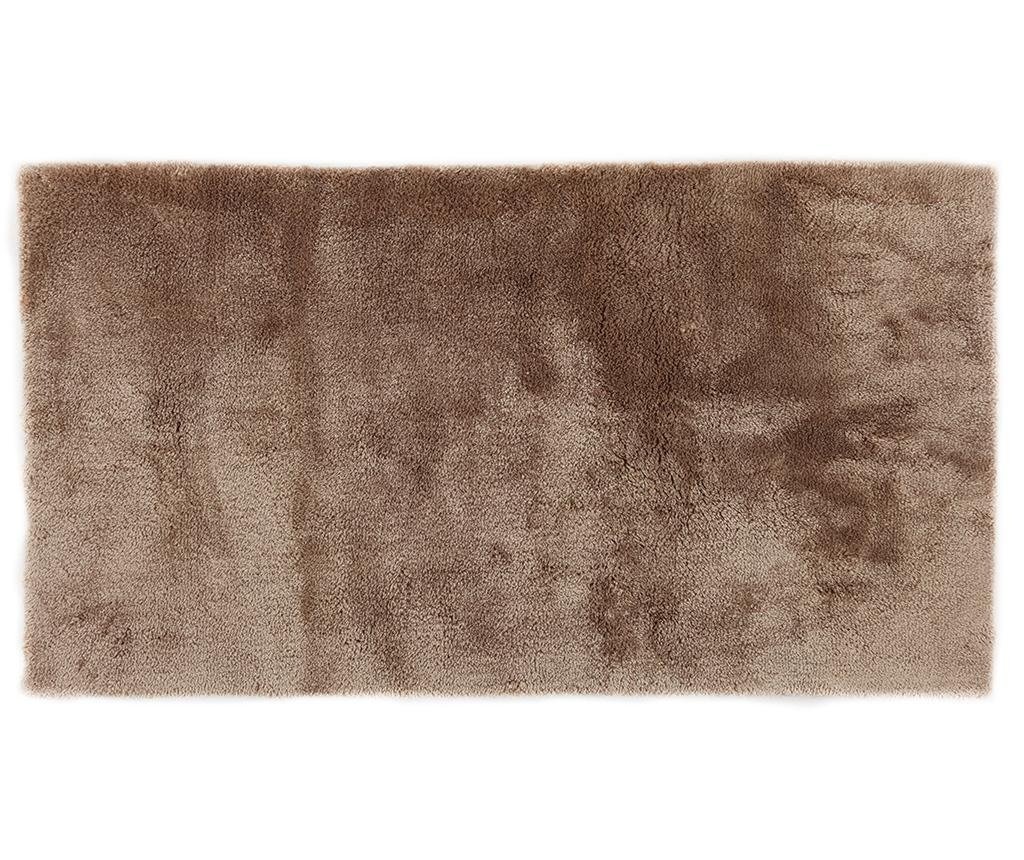 Shaggy Extra Soft Brown Szőnyeg 80x150 cm
