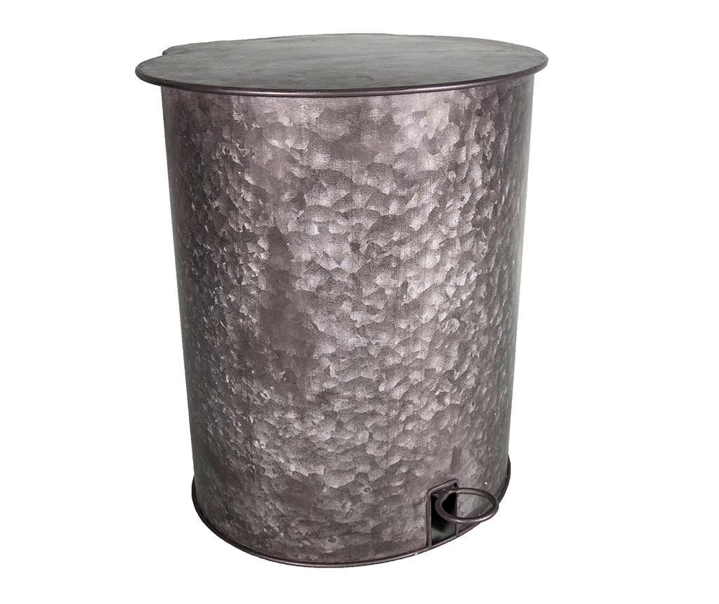 Odpadkový kôš s vekom a pedálom Aereled