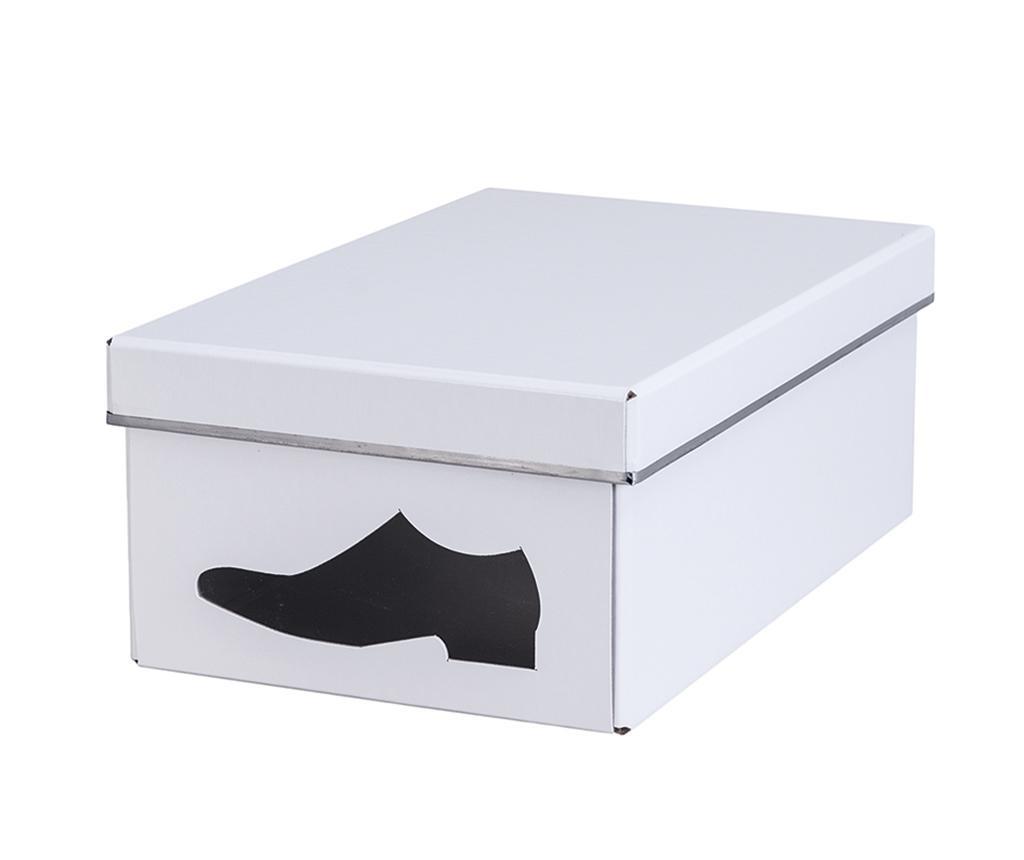 Cutie pentru depozitare pantofi Denis White