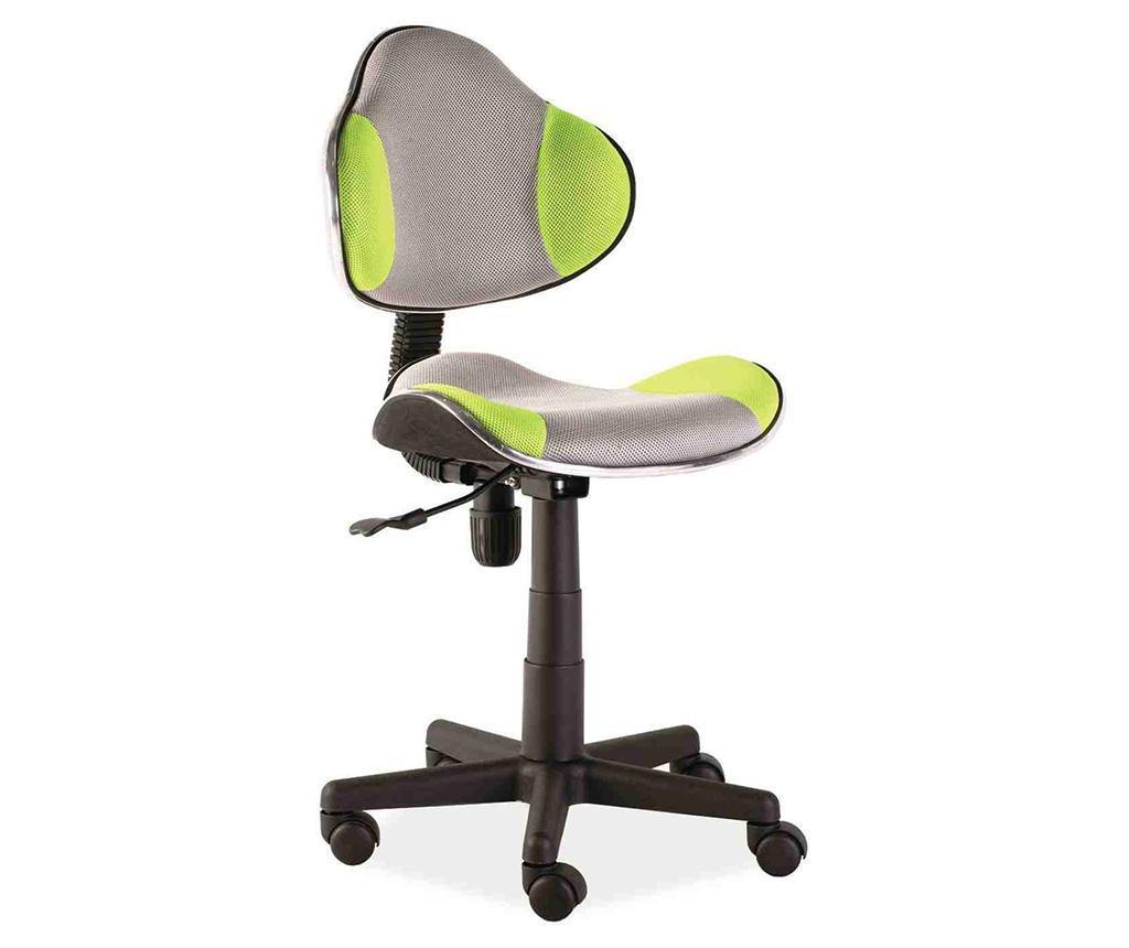 Scaun de birou pentru copii Vivid Grey Green