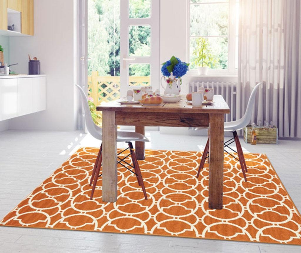 Covor Interlaced Orange 160x230 cm