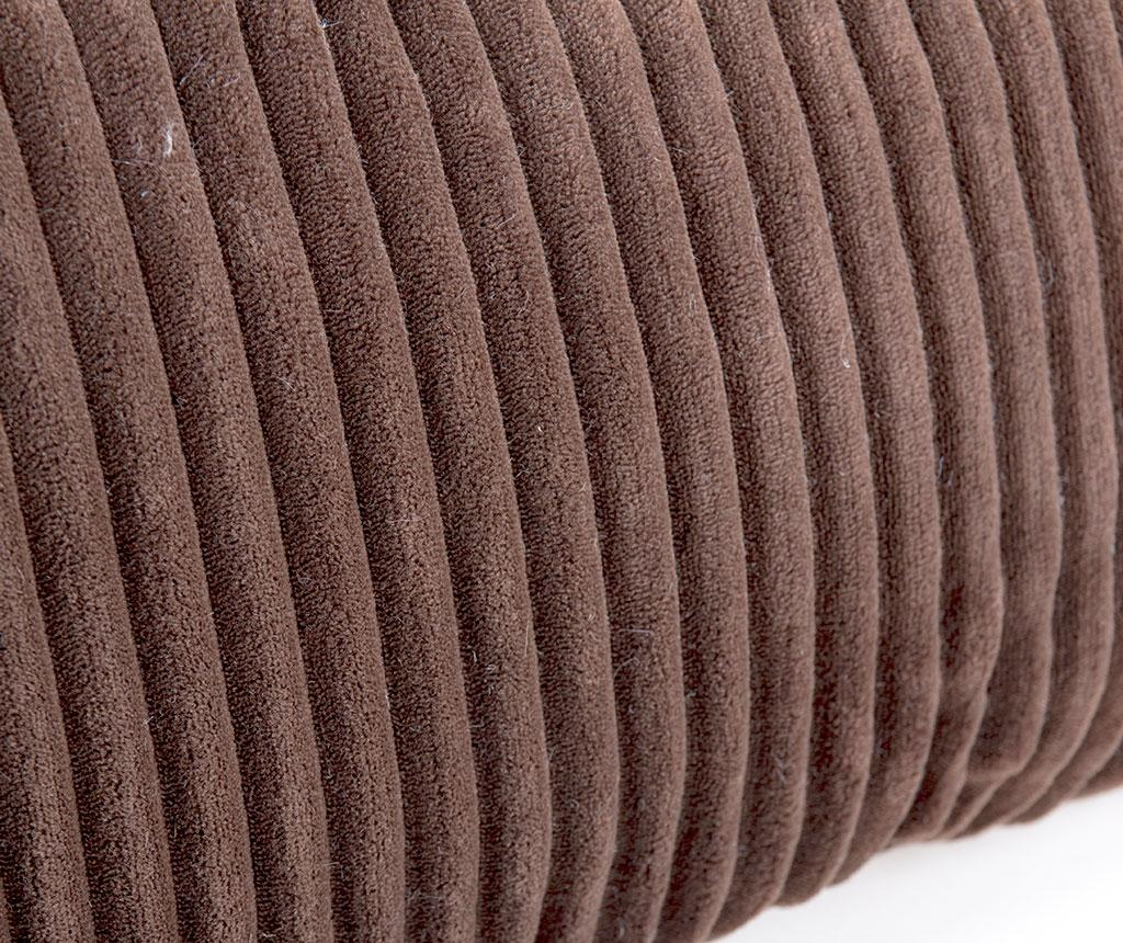 Ukrasni jastuk Striped Brown Long 30x60 cm