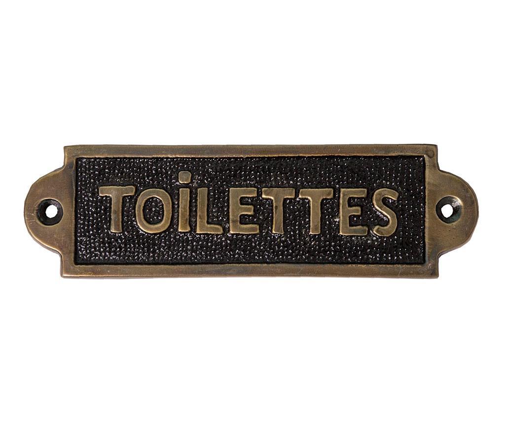 Ukras za vrata Toilettes Plaque