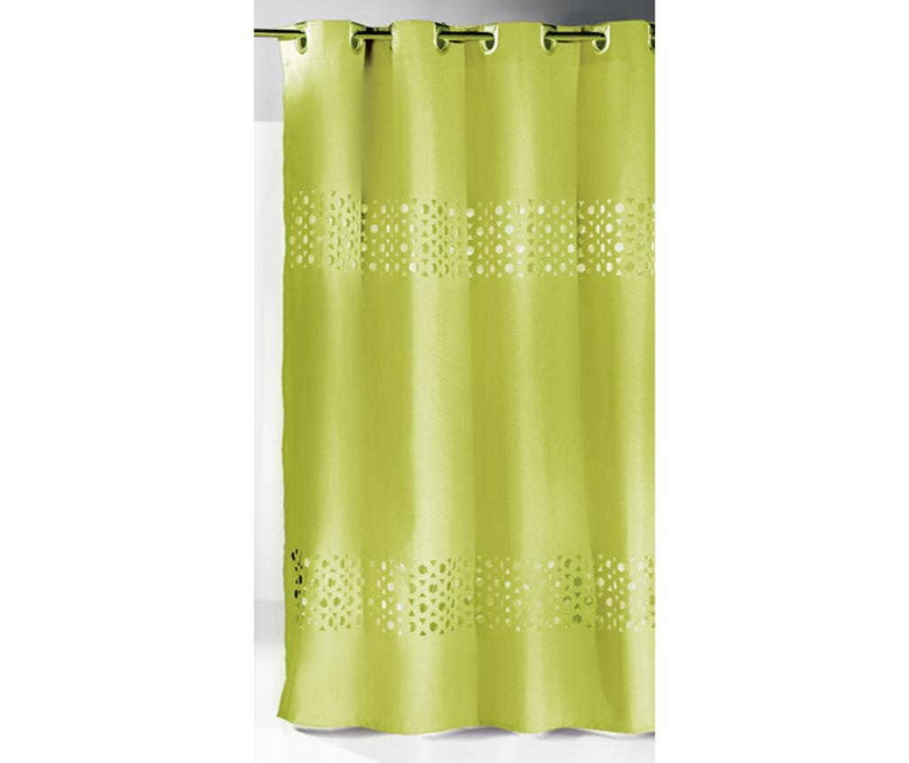 Zasłona prysznicowa Double Lime 180x180 cm