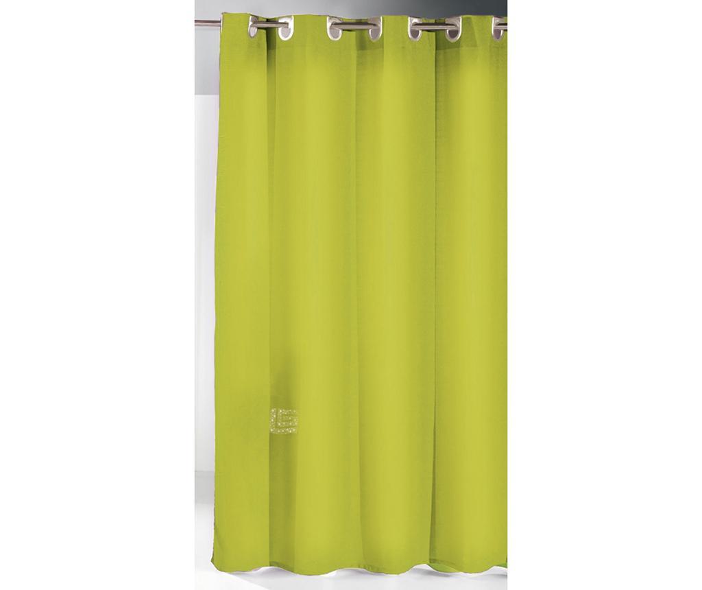 Zasłona prysznicowa Ivy Lime 180x180 cm