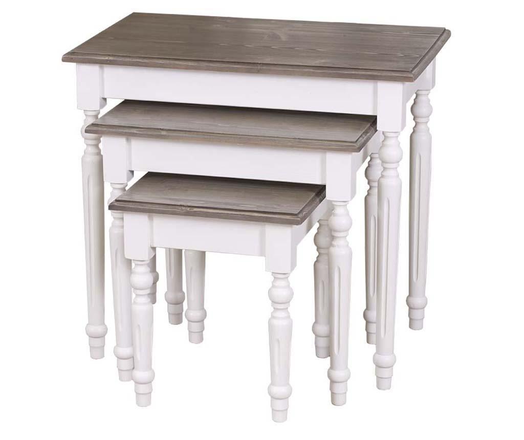 Set 3 stolića Megan