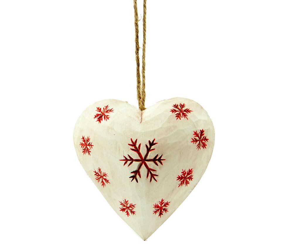 Decoratiune suspendabila Snowflakes White