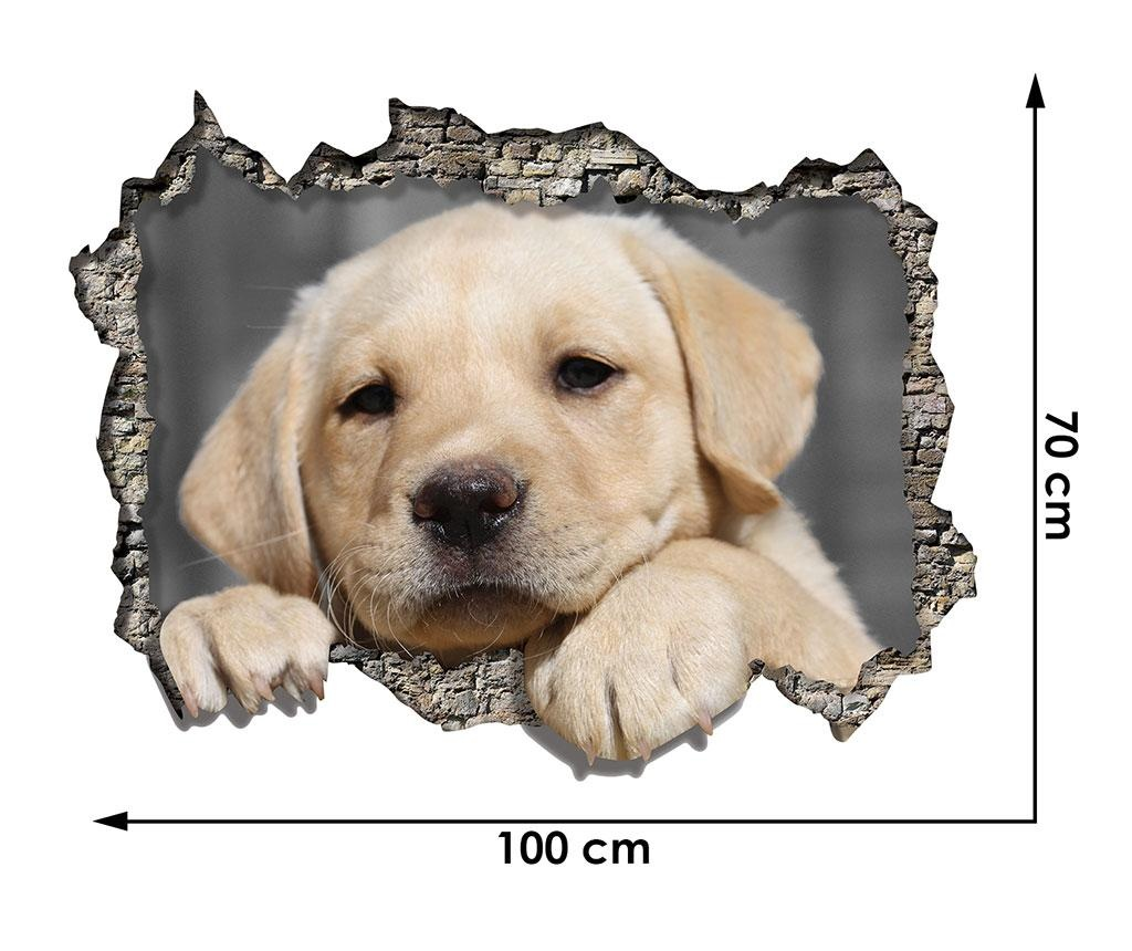 Sticker 3D Puppy