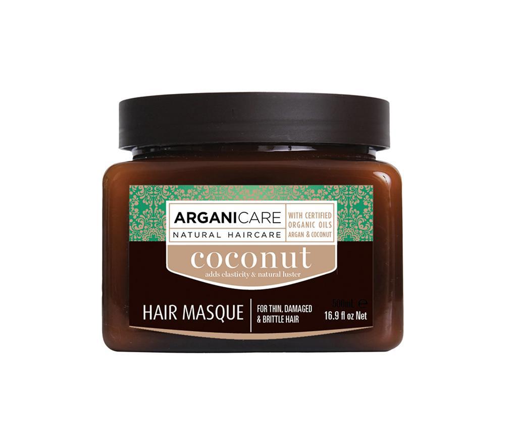 Masca pentru par lipsit de vitalitate Coconut 500 ml